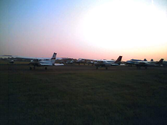 Dawn on the flightline...